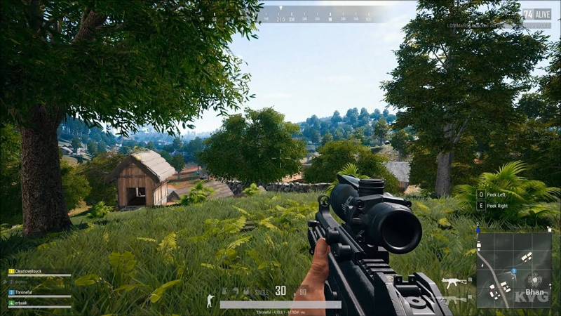 PUBG Online Battleground Screenshot
